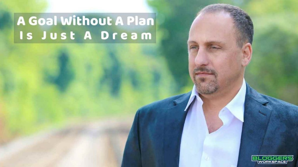 Digital Course Warrior Goal with no plan is a dream